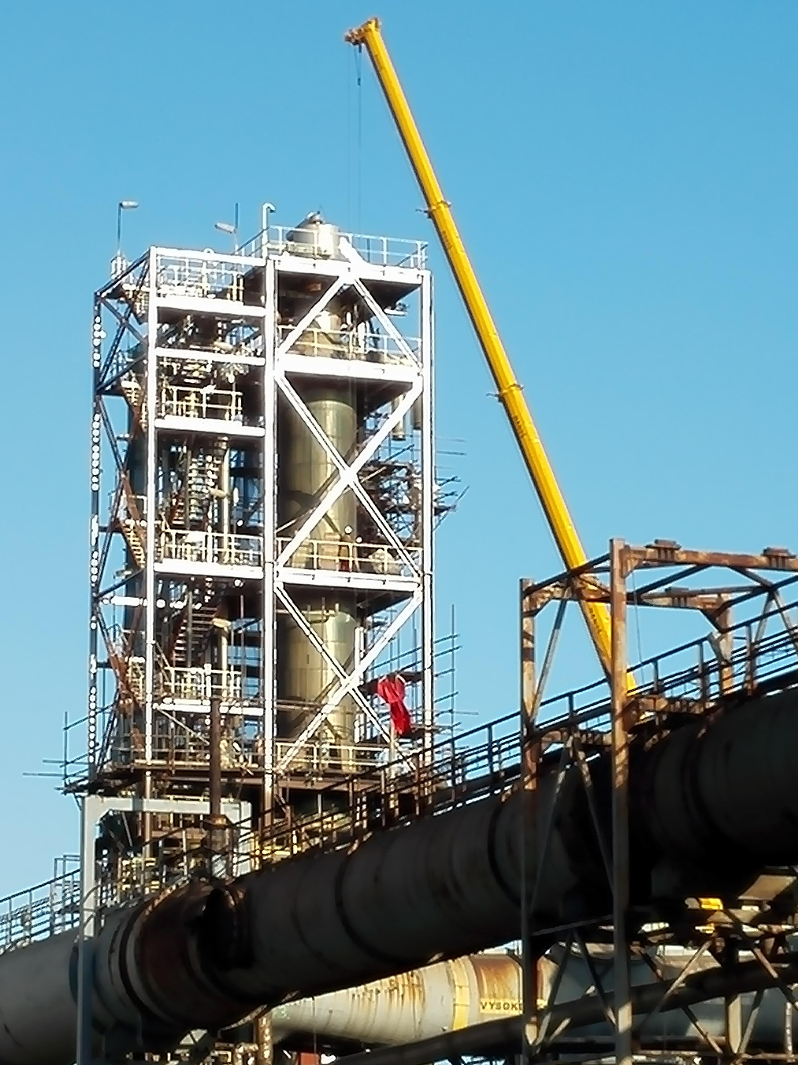 New H2S and ammonia scrubbers for Coke Plant - Hutni project